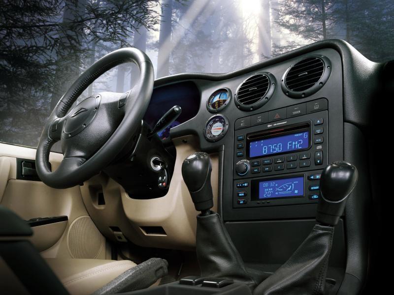 Руль, коробка передач, консоль Landwind X6