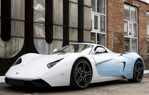 Белый Marussia B1