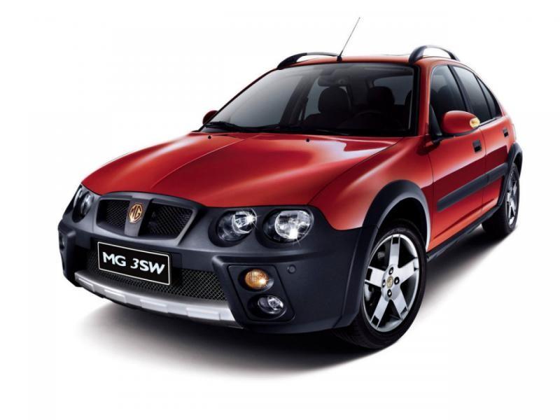 Красный хэтчбек MG 3SW