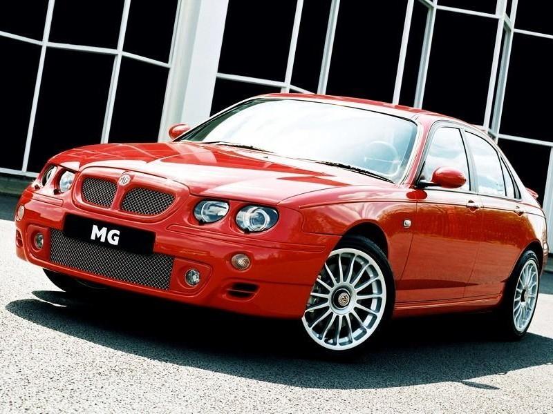 Красный седан MG X20