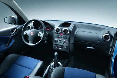 Салон, руль, коробка передач MG 3SW
