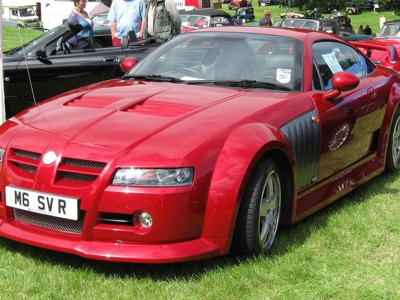 Красный купе MG Xpower SV