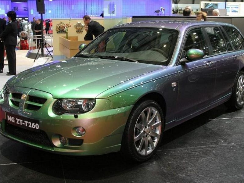 Зеленый универсал MG ZT-T