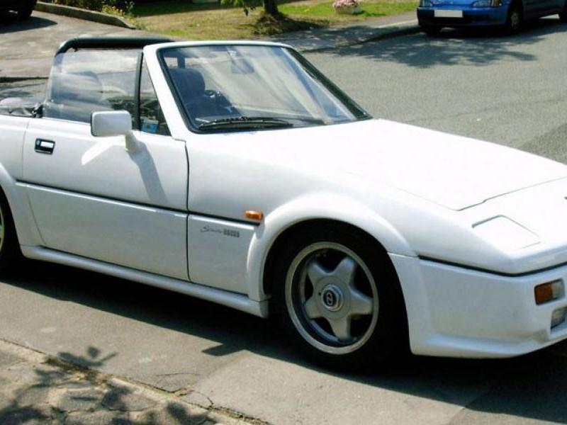 Белый Reliant Scimitar Sabre