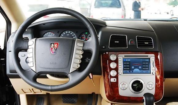 Руль, консоль, приборная панель Roewe W5