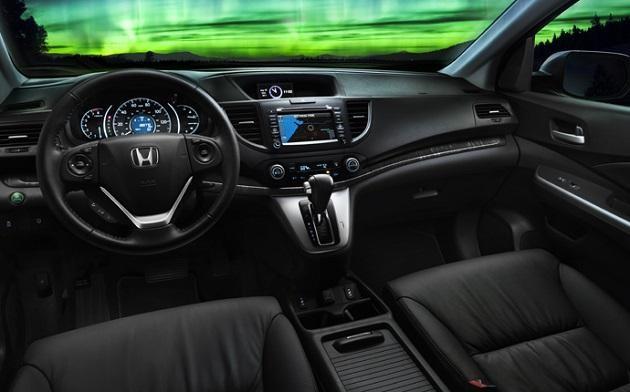 Черный салон, руль, консоль Honda HR-V