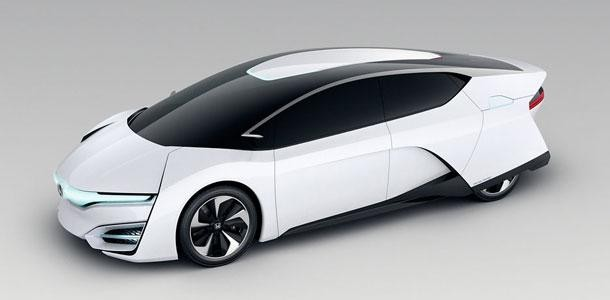 Концепт Honda FCV вид сбоку