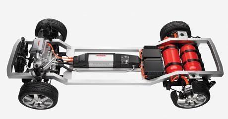 Платформа Honda FCV