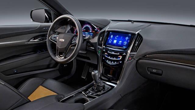 Руль, консоль Cadillac ATS-V.R 2015