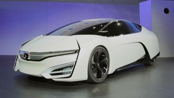 Honda FCV, белый концепт