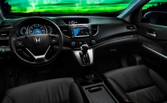 Черный салон Honda HR-V