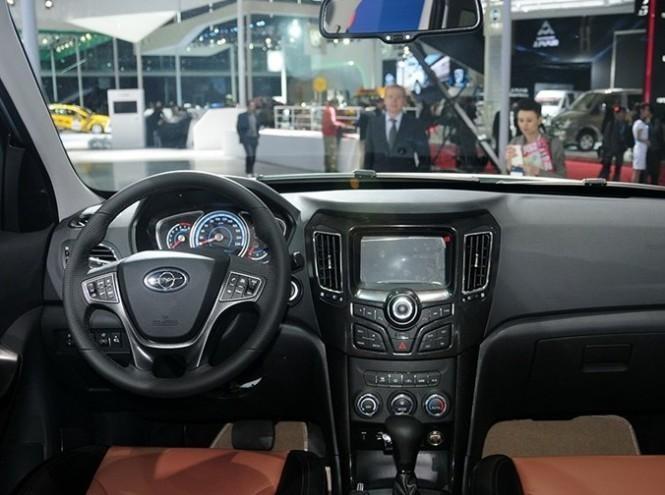 Руль, консоль, коробка передач Haima S7