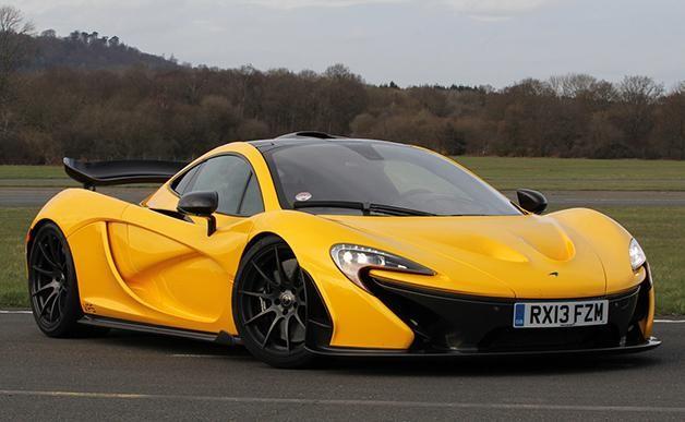 Желтый McLaren Sport Series