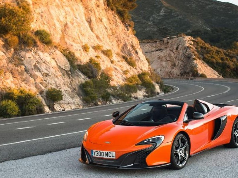 Суперкар McLaren Sport Series
