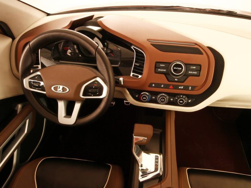 Руль, приборная панель Lada XRay