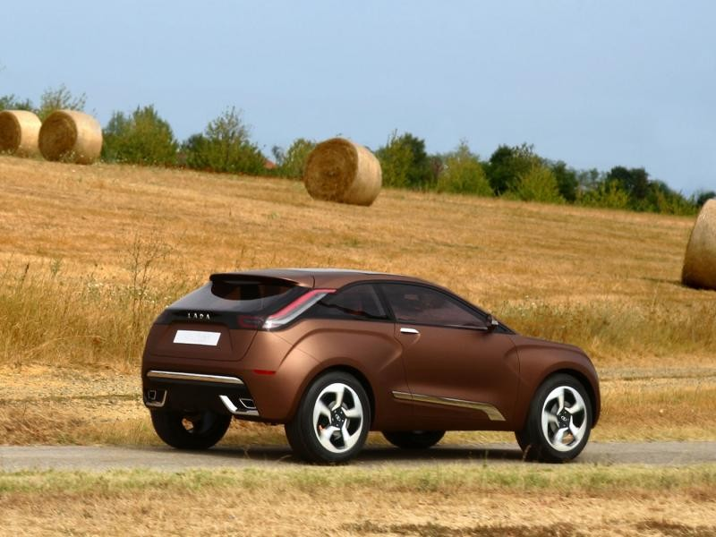 Концепт Lada XRaн, концепт вид сбоку