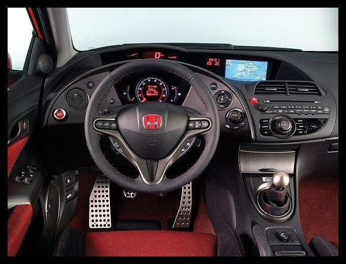 Руль, консоль Honda Civic Type R 2015