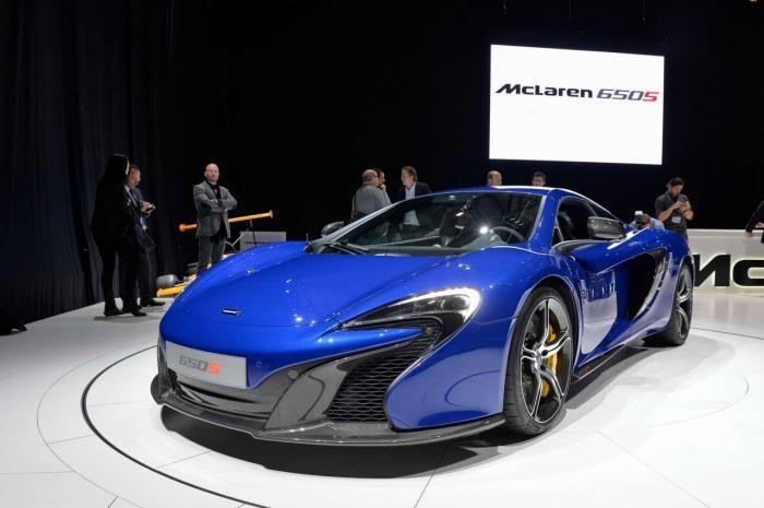 Презентация McLaren 650S Coupe 2015