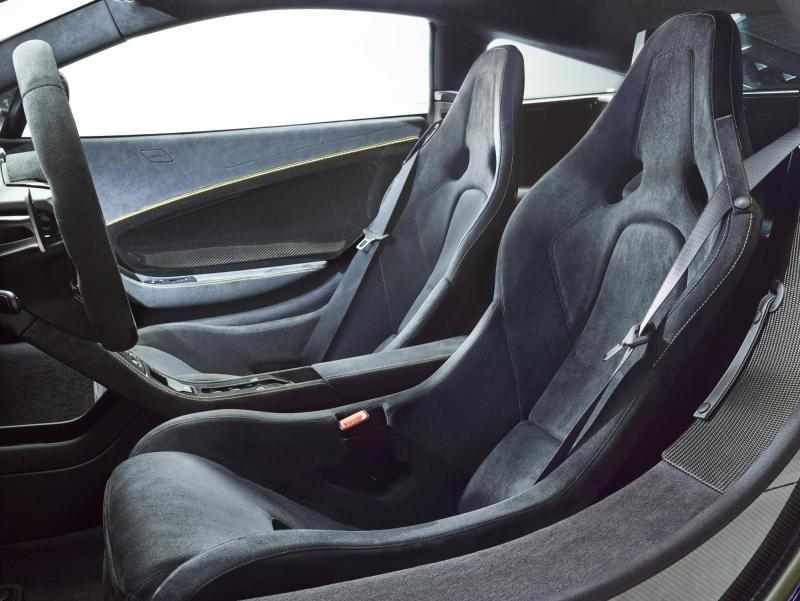 Салон McLaren 650S Coupe