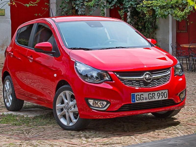 Opel Karl красный хэтчбек