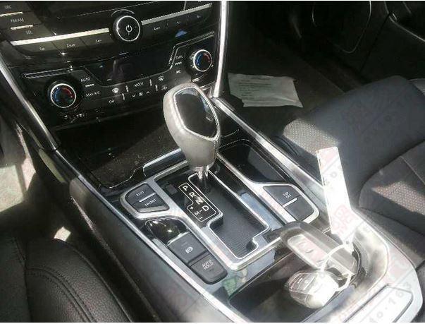Корока передач, консоль Geely GC9