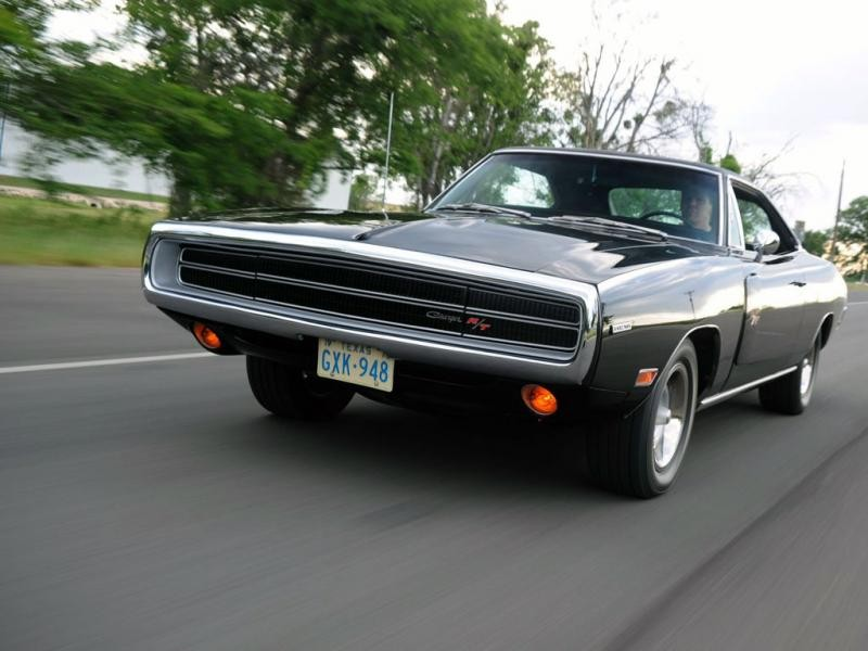 Dodge Charger RT Race Hemi 1970 вид сбоку
