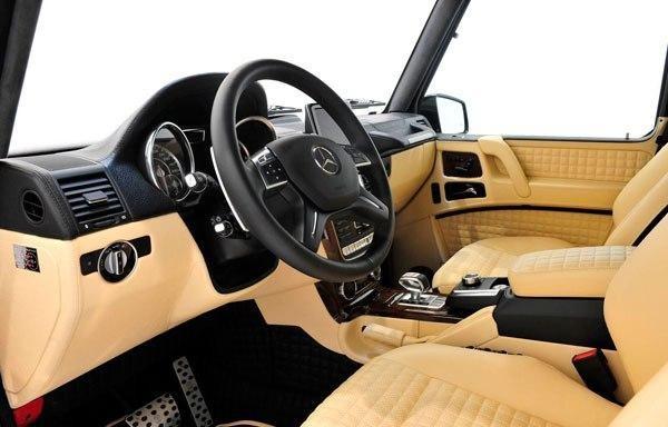 Интерьер Mercedes Brabus G800