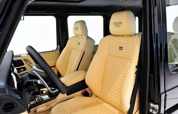 Салон Mercedes Brabus G800