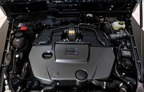 Двигатель Mercedes Brabus G800