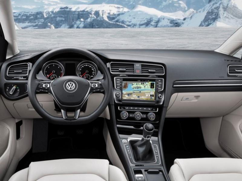 Интерьер Volkswagen Jetta 2015