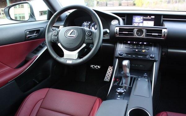 Салон Lexus IS250 AWD F Sport