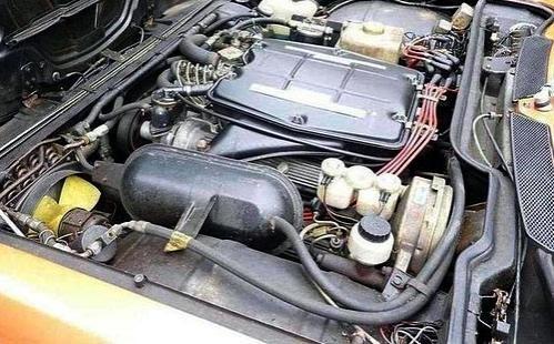 Двигатель Alfa Romeo Montreal Coupe 1972