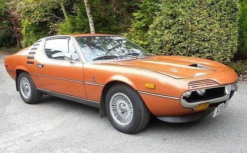 Купе Alfa Romeo Montreal Coupe 1972