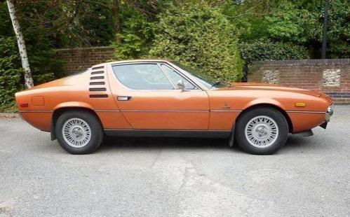 Купе Alfa Romeo Montreal Coupe 1972 вид сбоку