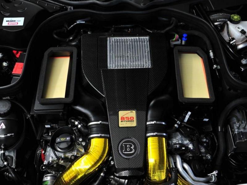 Двигатель седана Brabus 850 6.0 Biturbo
