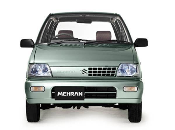 Хэтчбек Suzuki Mehran вид сперели