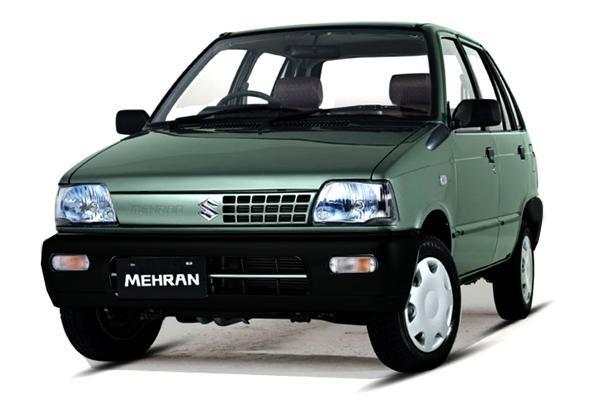 Хэтчбек Suzuki Mehran, вид спереди