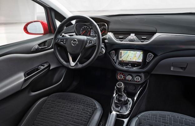 Руль, консоль, интерьер Opel Corsa Van 2015