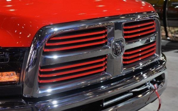 Бампер и решетка радиатора Dodge Ram Power Wagon