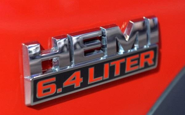 Эмблема пикапа Dodge Ram Power Wagon