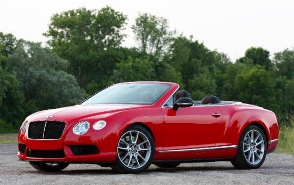 Кабриолет Bentley Continental GT V8 S