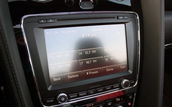 Консоль кабриолета Bentley Continental GT V8 S
