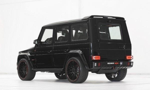 Черный внедорожник Brabus G65 800 iBusiness
