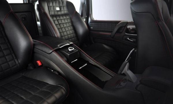 Черный салон Brabus G65 800 iBusiness