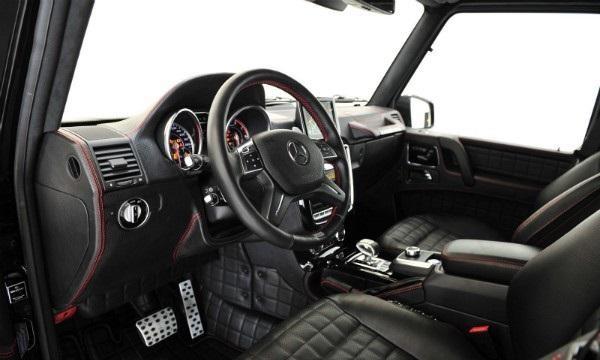 Руль, салон, приборная панель Brabus G65 800 iBusiness