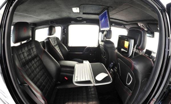 Интерьер Brabus G65 800 iBusiness