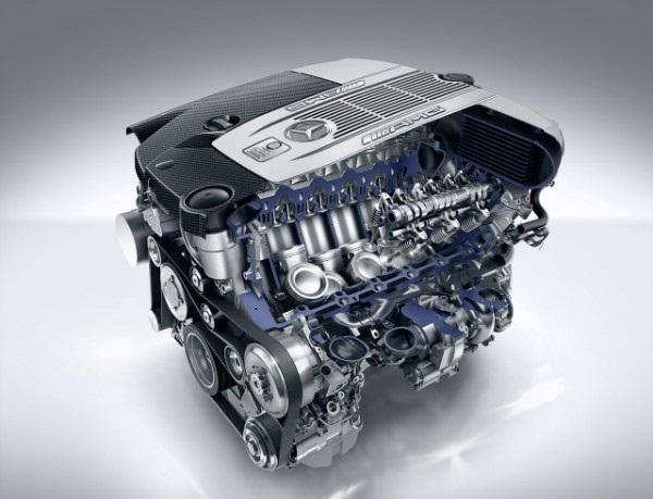 Двигатель Mercedes S65 AMG Coupe