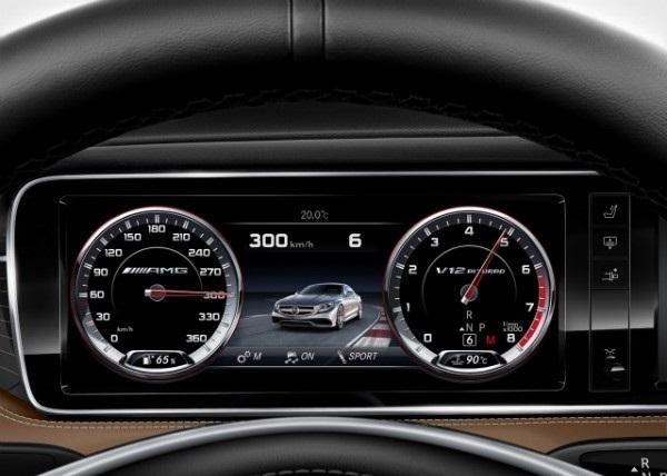Приборная панель Mercedes S65 AMG Coupe