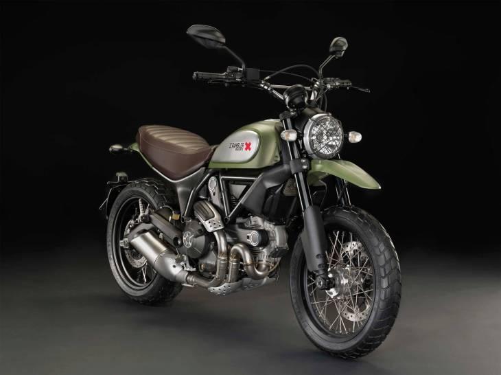 Мотоцикл Ducati Scrambler Icon 2015
