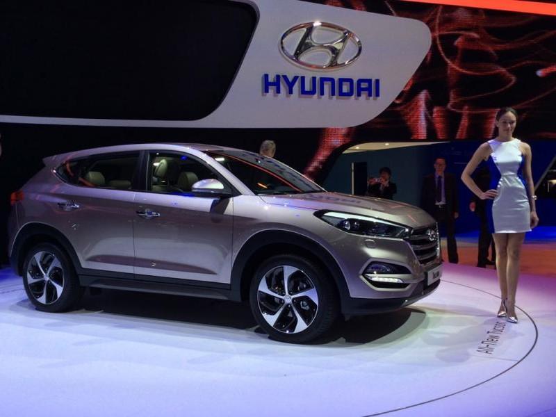 Презентация кроссовера Hyundai Tucson 2015